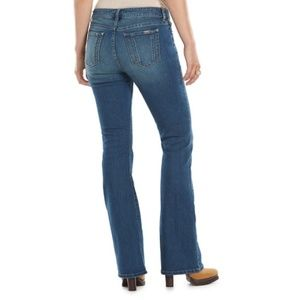 Jennifer Lopez Blue Med Wash Bootcut Jeans SZ 14